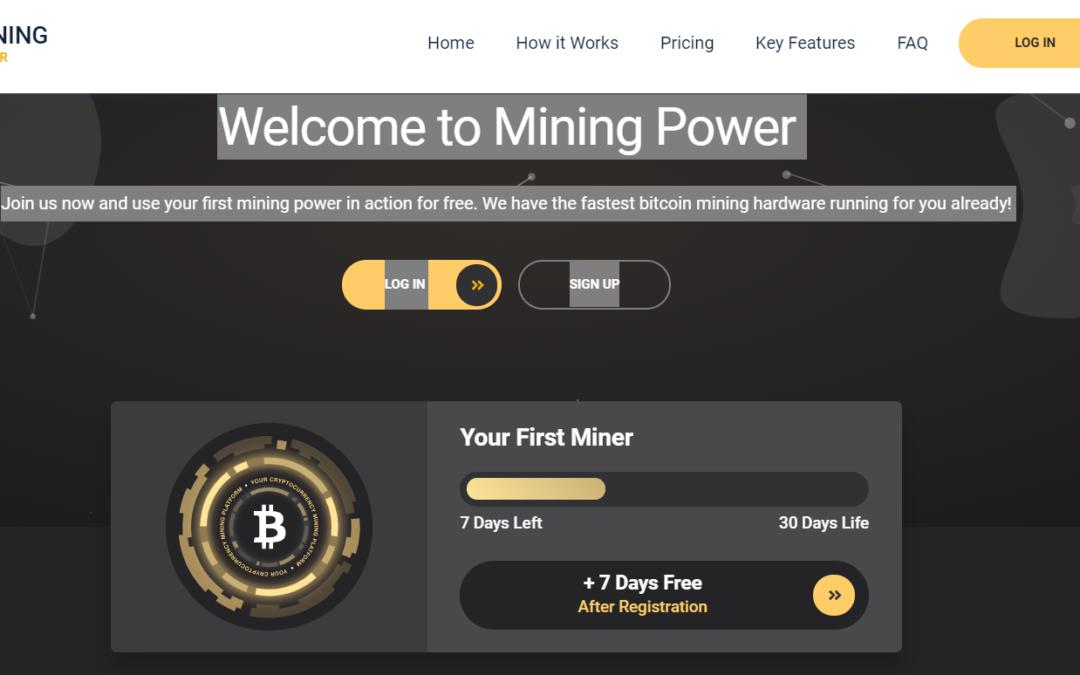 Лохотрон Mining Power